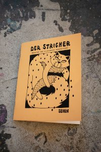 """Der Stricher"", Comic-Cover"